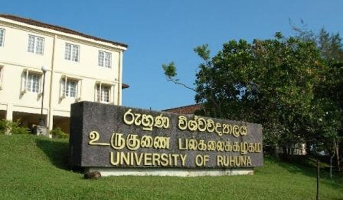 2 faculties at Ruhuna uni to re-open next Monday
