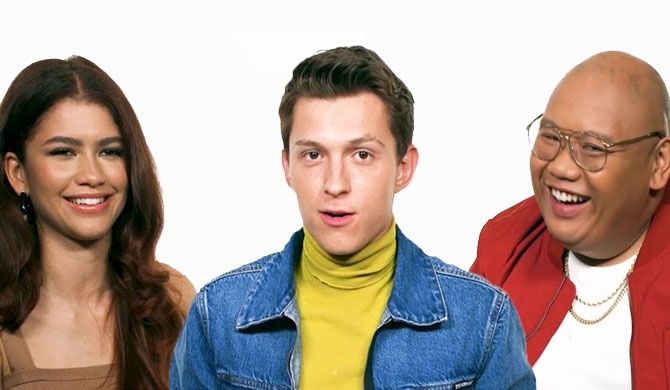 Tom Holland, Zendaya & Jacob Batalon Interview: Spider-Man: Far From Home
