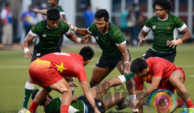 SL Rugby team qualifies for Asian Games semis