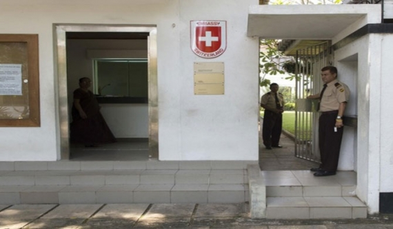 Swiss embassy staffer's overseas travel ban extended
