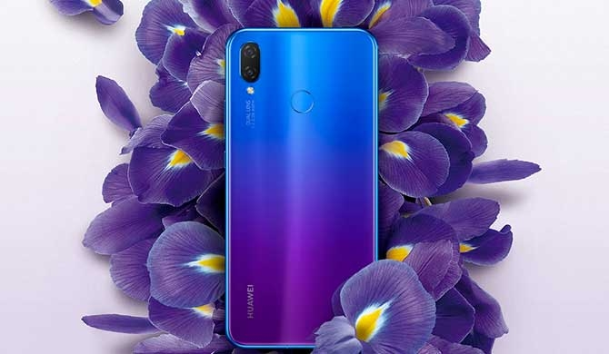 Huawei nova 3 Series leads smartphone colour trend in SL